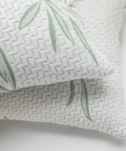 Bambu kuddar och sängkläder set