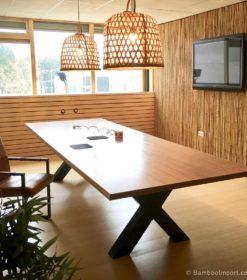 Bambu massiva paneler