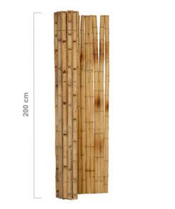 Half Round Natural staket rullar